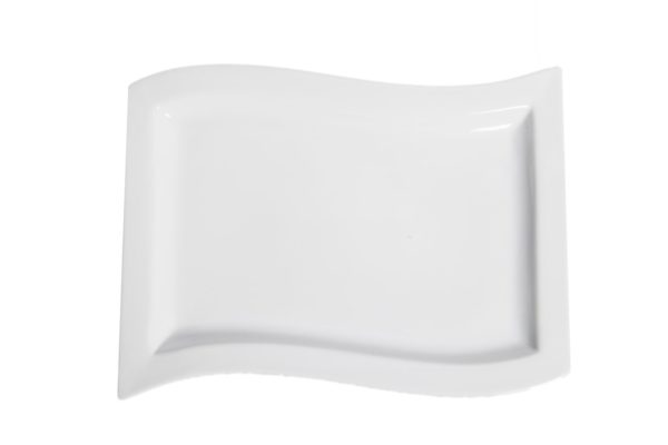 China Wave Rectangular Platter